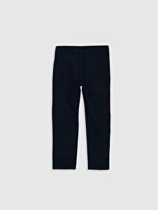 %100 Pamuk Aksesuarsız Standart Normal Bel Astarsız Beş Cep Pantolon Düz Gabardin Erkek Çocuk Gabardin Pantolon