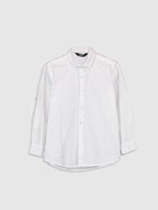 Erkek Çocuk Uzun Kollu Oxford Gömlek