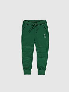 Yeşil Erkek Çocuk Jogger Eşofman Altı 0S1838Z4 LC Waikiki