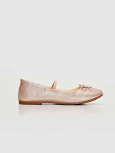 %0 Tekstil malzemeleri (%100 poliester) Işıksız Babet Lastik Polyester Astar Kız Çocuk 31-36 Numara Babet Ayakkabı