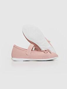 Kız Çocuk Kız Çocuk Fiyonk Detaylı Babet Ayakkabı