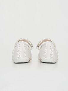 Kız Çocuk Fiyonk Detaylı Babet Ayakkabı
