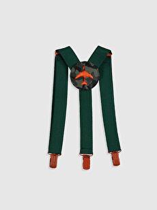 %72 Polyester %28 ELASTODİEN  Erkek Çocuk Pantolon Askısı