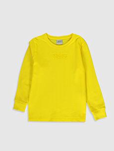 Erkek Çocuk Pamuklu Uzun Kollu Tişört