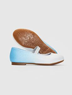 Kız Çocuk Kız Çocuk Frozen Baskılı Babet Ayakkabı