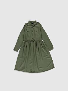 Kız Çocuk Viskon Elbise