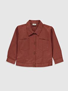 Kız Çocuk Pamuklu Ceket