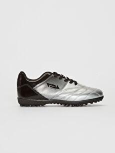 Gri Erkek Çocuk Halı Saha Ayakkabısı 0SJ952Z4 LC Waikiki