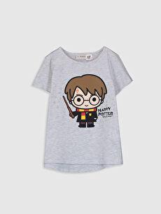 Kız Çocuk Harry Potter Baskılı Tişört