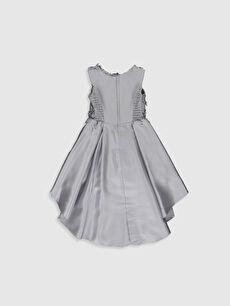 Mini Baskılı Daisy Girl Kız Çocuk Çiçekli Abiye Elbise