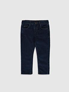 Erkek Bebek Slım Fıt Jean Pantolon