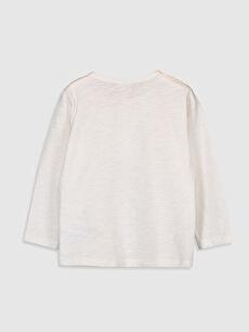 %100 Pamuk Normal Düz Uzun Kol Tişört Bisiklet Yaka Erkek Bebek Basic Pamuklu Tişört