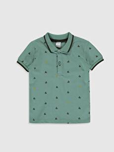 Haki Erkek Bebek Baskılı Tişört 0S0383Z1 LC Waikiki
