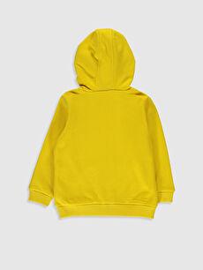 %65 Pamuk %35 Polyester  Erkek Bebek Fermuarlı Sweatshirt