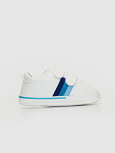 Beyaz Erkek Bebek Cırt Cırtlı Yürüme Öncesi Ayakkabı 0S2677Z1 LC Waikiki