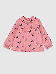 Pembe Kız Bebek Desenli Tişört 0S5473Z1 LC Waikiki