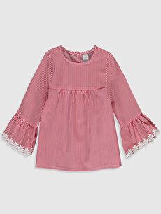 Kız Bebek Çizgili Bluz