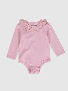 Pembe Kız Bebek Çıtçıtlı Body 0S8539Z1 LC Waikiki