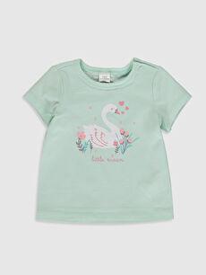 Kız Bebek Organik Pamuklu Kız Bebek Tişört ve Pantolon