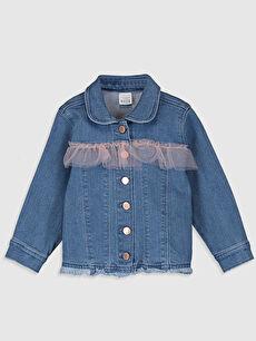İndigo Kız Bebek Jean Ceket 0SK183Z1 LC Waikiki