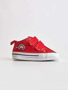 Kırmızı Erkek Bebek Yürüme Öncesi Ayakkabı 0SK826Z1 LC Waikiki