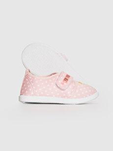 Kız Bebek Kız Bebek Cırt Cırtlı Bez Günlük Spor Ayakkabı