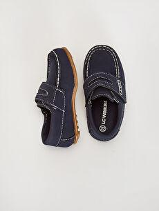 Diğer malzeme (pvc) Işıksız Klasik Ayakkabı Cırt Cırt Erkek Bebek Klasik Ayakkabı
