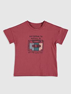 Erkek Bebek Pamuklu Tişört