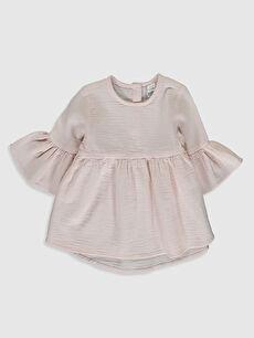 Pembe Kız Bebek Basic Bluz 0SD384Z1 LC Waikiki
