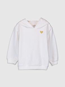 Kız Bebek Kapüşonlu Sweatshirt