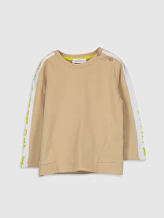Erkek Bebek Basic Sweatshirt