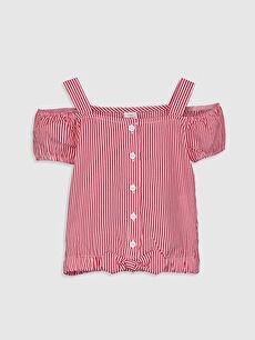 Ekru Kız Bebek Pamuklu Bluz 0SU524Z1 LC Waikiki