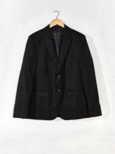 Dar Kalıp Takım Elbise Ceketi
