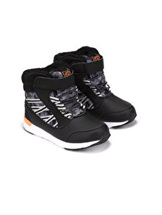Boy's Hook and Loop Snow Boots