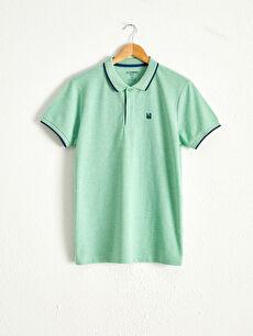 Polo Yaka Basic Kısa Kollu Pike Tişört