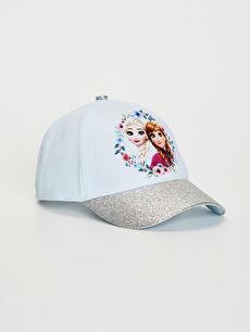 Kız Çocuk Frozen Lisanslı Şapka
