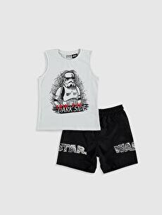 Erkek Çocuk Star Wars Yüzme Takım