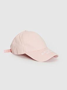 Yazı Nakışlı Ter Bantlı Gabardin Şapka