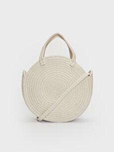 Ecru Cross Bag
