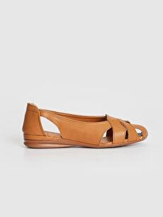 Kadın Bant Geçişli Klasik Ayakkabı