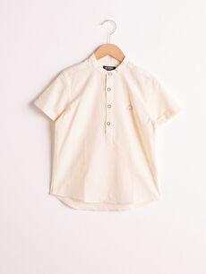 Erkek Çocuk Pamuklu Gömlek