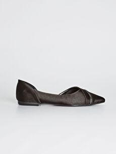Kadın Sivri Burun Babet Ayakkabı