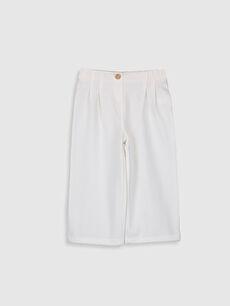 Basic Bol Paça Kız Bebek Pantolon