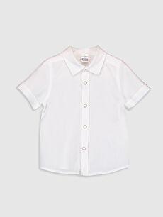 Erkek Bebek Baskılı Gömlek