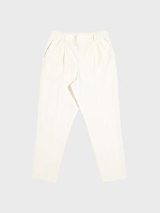 Beli Lastikli Bilek Boy Havuç Pantolon