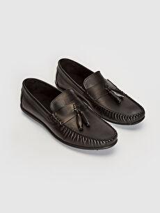 Erkek Hakiki Deri Loafer Ayakkabı
