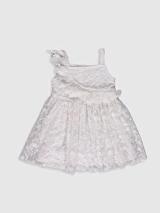Kız Bebek Dantel Elbise