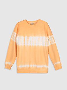 Erkek Çocuk Batik Desenli Sweatshirt