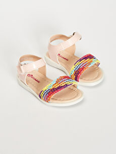 Kız Bebek Tek Bantlı Sandalet