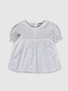 Kız Çocuk Poplin Bluz